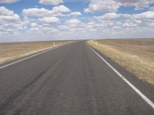 Road Between Hay and Ivanhoe