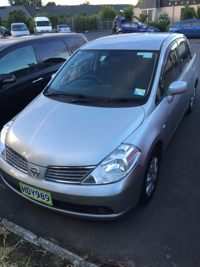 Nissan Tiida from Jucy