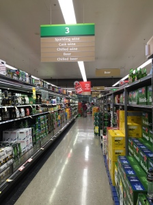 Countdown Alcohol Aisle