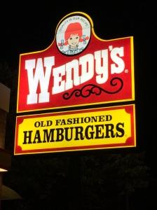 Wendys in Palmerston North