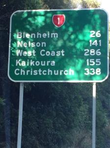338km to Christchurch